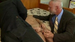 Older Man Getting An Education (In SEX!)